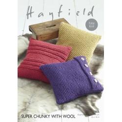 Hayfield Super Chunky Cushion Pattern 7805