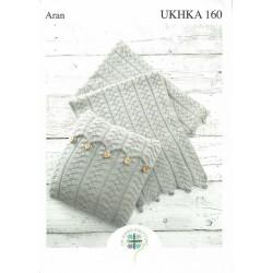 UKHKA Aran Accessory Pattern 160