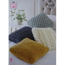 King Cole Big Cushion Pattern 5535