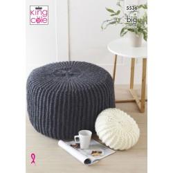 King Cole Big Cushions Pattern 5536