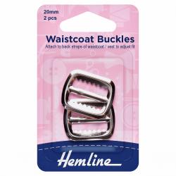 Waistcoat Buckle - Gun Metal finish