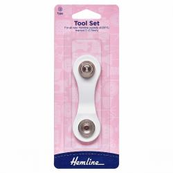 Eyelet Tool Set: 5.5mm