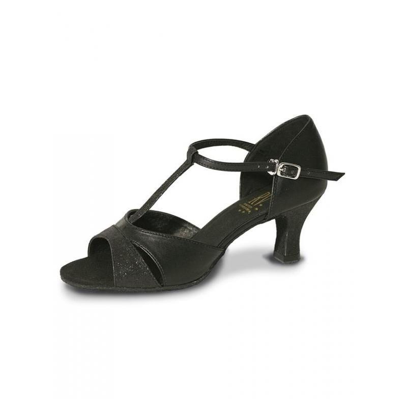 42cf76d06b9f PRISCILLA Roch Valley Black Gilliter Latin Ballroom Dance Shoes