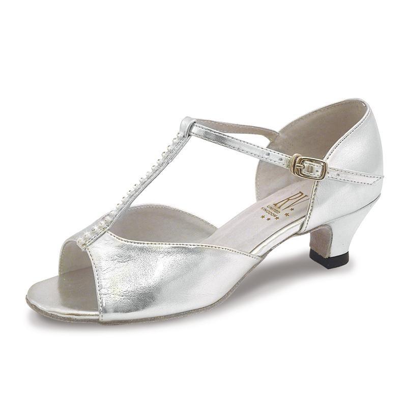 e2d7b4ae15b9 LARA Silver Diamante Ballroom Dance Shoes. Loading zoom