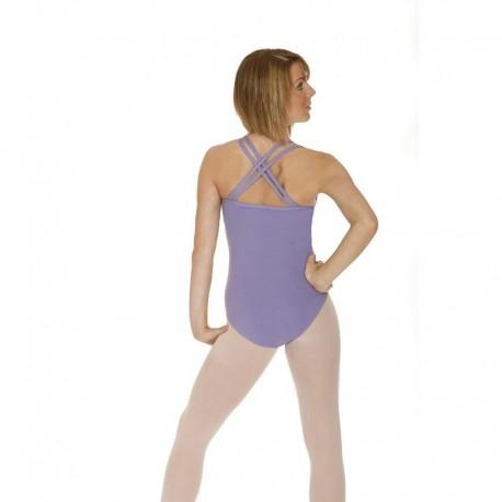 Roch Valley Cotton Lycra Double Strap Dance Leotard - Sophie