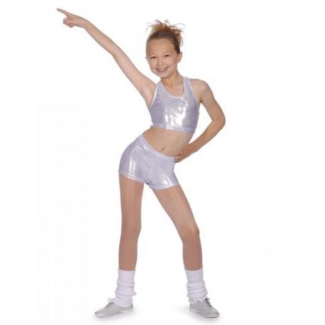 Metallic Dance Shorts from Roch Valley