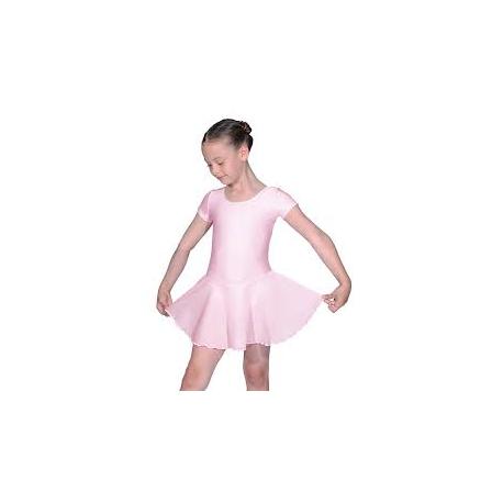 Roch Valley Short Sleeved Dance Leotard with Skirt 2383