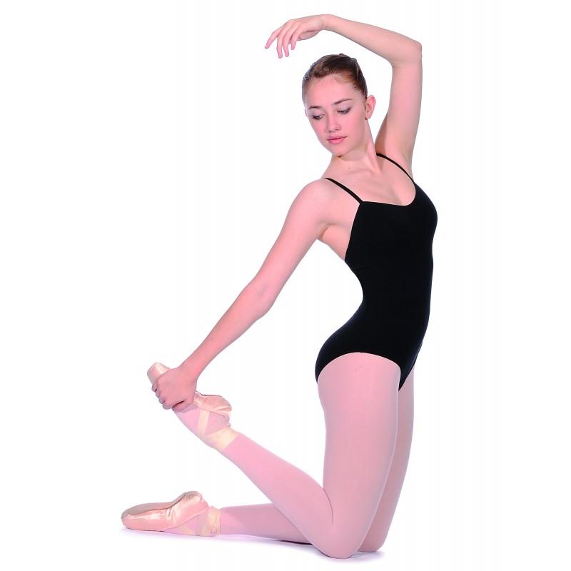 b40791b16c12 Roch Valley Cotton Lycra Dance Leotard - bianca
