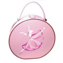 Ballerina Pink Ballet Vanity Case Dance Bag