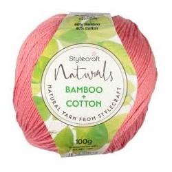 Stylecraft Naturals Bamboo & Cotton DK 100g