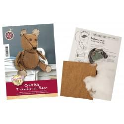 Jomil Large Bear Felt Kit