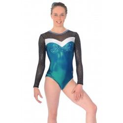 Ultra Long Sleeve Gymnastics Leotard from Zone