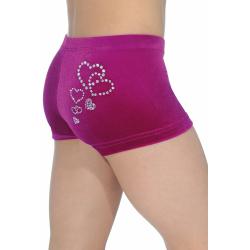 Valentine Gymnastics Shorts