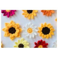 Crochet Flower Class - 21 Jan - 11am-1pm