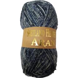 Woolcraft Shetland Heather Aran 100g