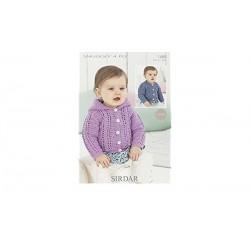 Sirdar Snuggly 4 ply Baby Pattern 1489