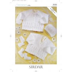 Sirdar Snuggly 4 ply Baby Pattern 3930
