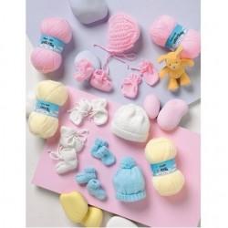 Stylecraft Baby Accessories Pattern 8211