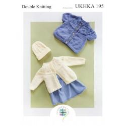 UKHKA BABY DK PATTERN 195