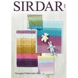 Sirdar Snuggly DK Baby Blanket Pattern 4749