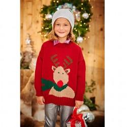 Stylecraft Childs Christmas Jumper Pattern 9204