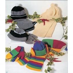 Stylecraft Childs Accessories Pattern 4388