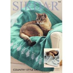 Sirdar Country Style DK Ladies Pattern 7828
