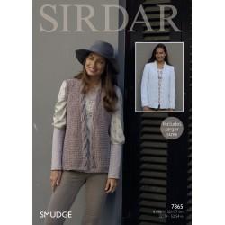 Sirdar Smudge Ladies Pattern 7865