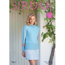 Sirdar No.1 Ladies Pattern 8049